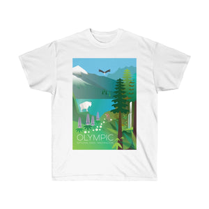 OLYMPIC NATIONAL PARK UNISEX ULTRA COTTON TEE