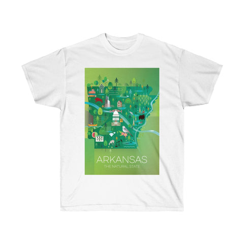 ARKANSAS UNISEX ULTRA COTTON TEE