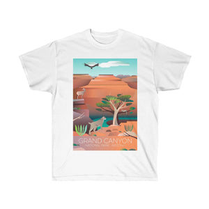 GRAND CANYON 2 UNISEX ULTRA COTTON TEE