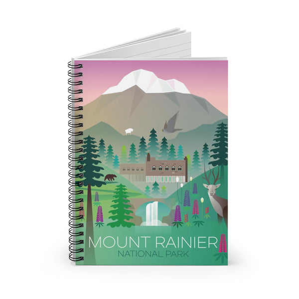 MOUNT RAINIER NATIONAL PARK JOURNAL