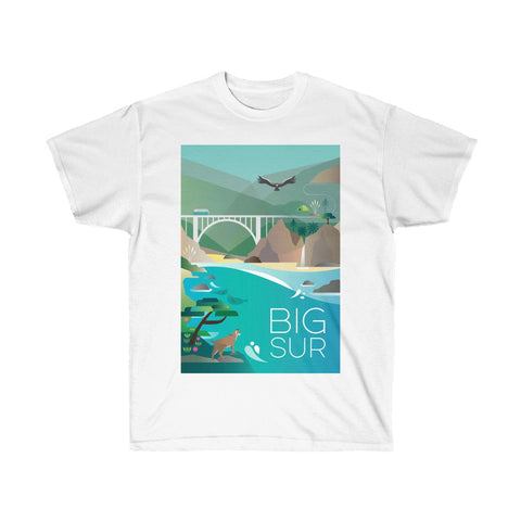 BIG SUR UNISEX ULTRA COTTON TEE