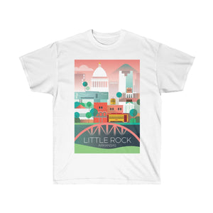 LITTLE ROCK UNISEX ULTRA COTTON TEE