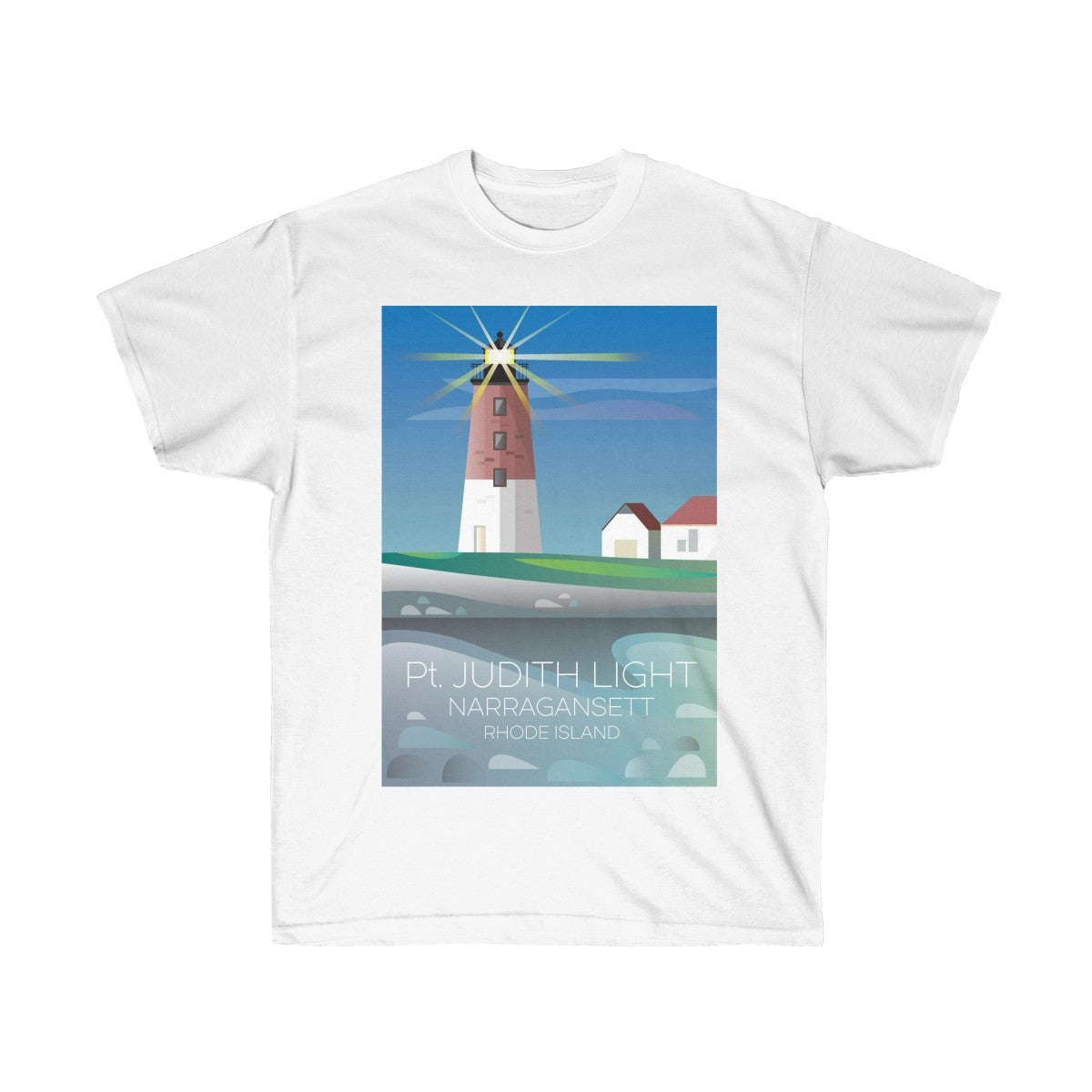 POINT JUDITH UNISEX ULTRA COTTON TEE