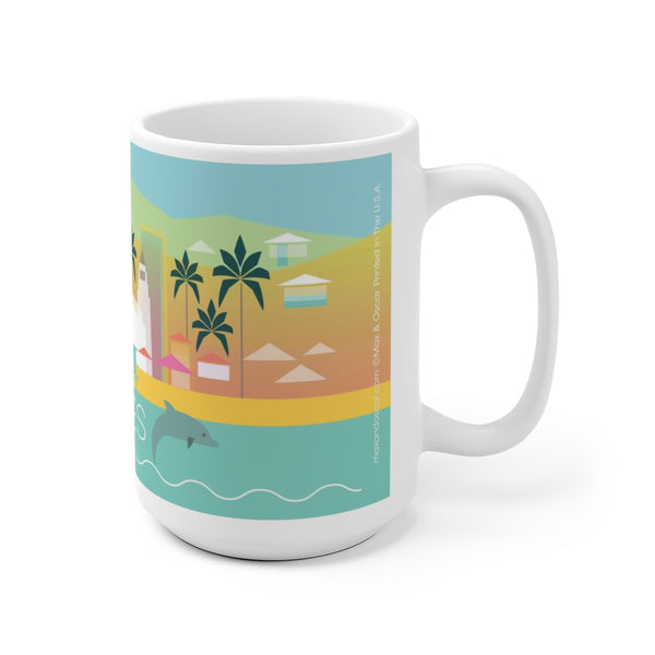 LOS ANGELES 15 OZ CERAMIC MUG