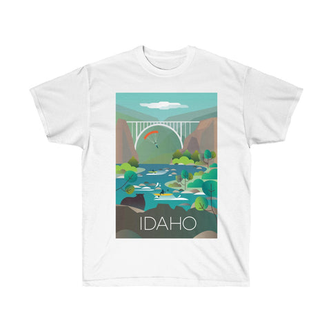 IDAHO UNISEX ULTRA COTTON TEE