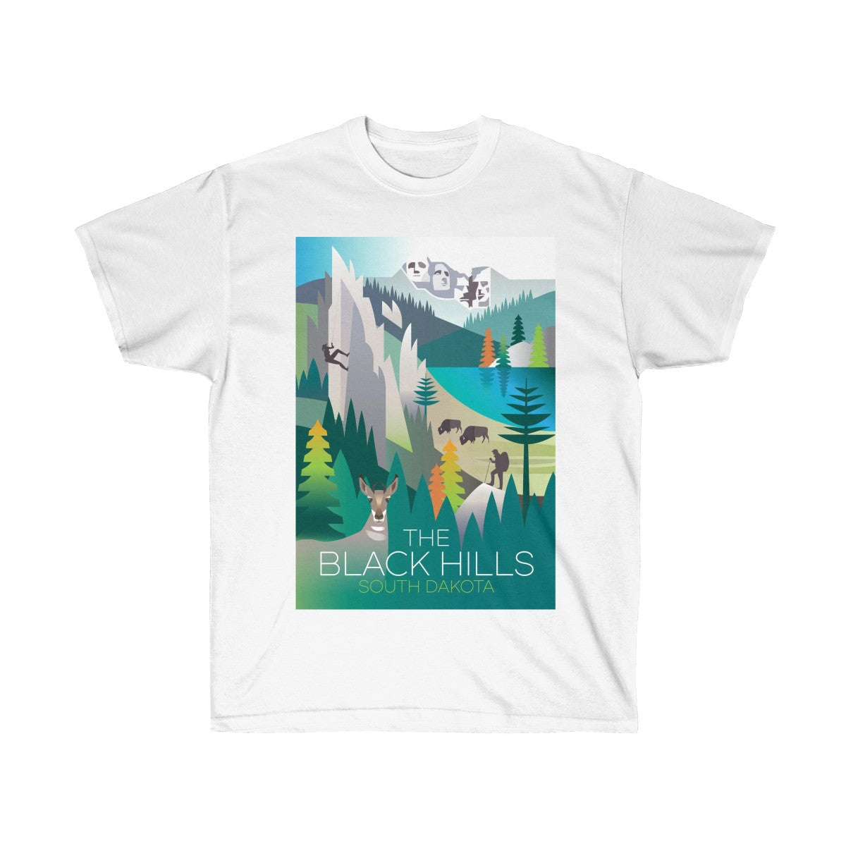 BLACK HILLS UNISEX ULTRA COTTON TEE