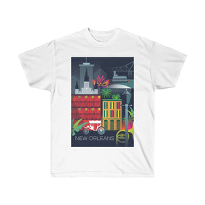 NEW ORLEANS UNISEX ULTRA COTTON TEE