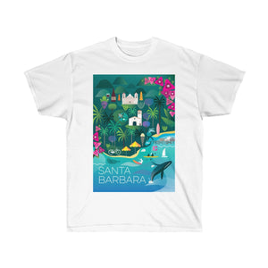 SANTA BARBARA UNISEX ULTRA COTTON TEE