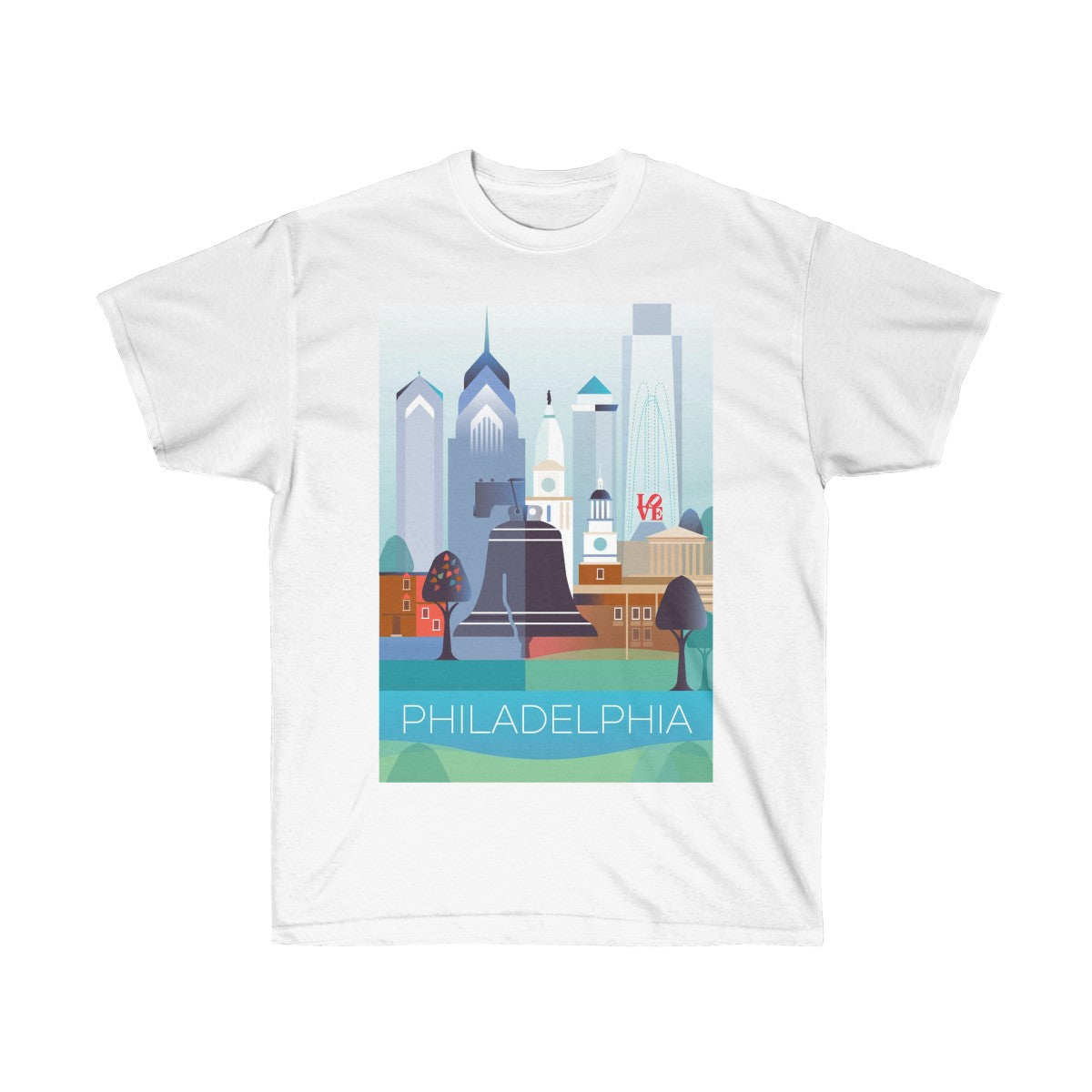 PHILADELPHIA UNISEX ULTRA COTTON TEE