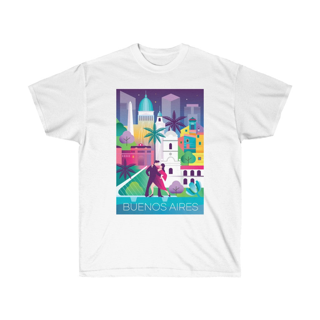 BUENOS AIRES UNISEX ULTRA COTTON TEE