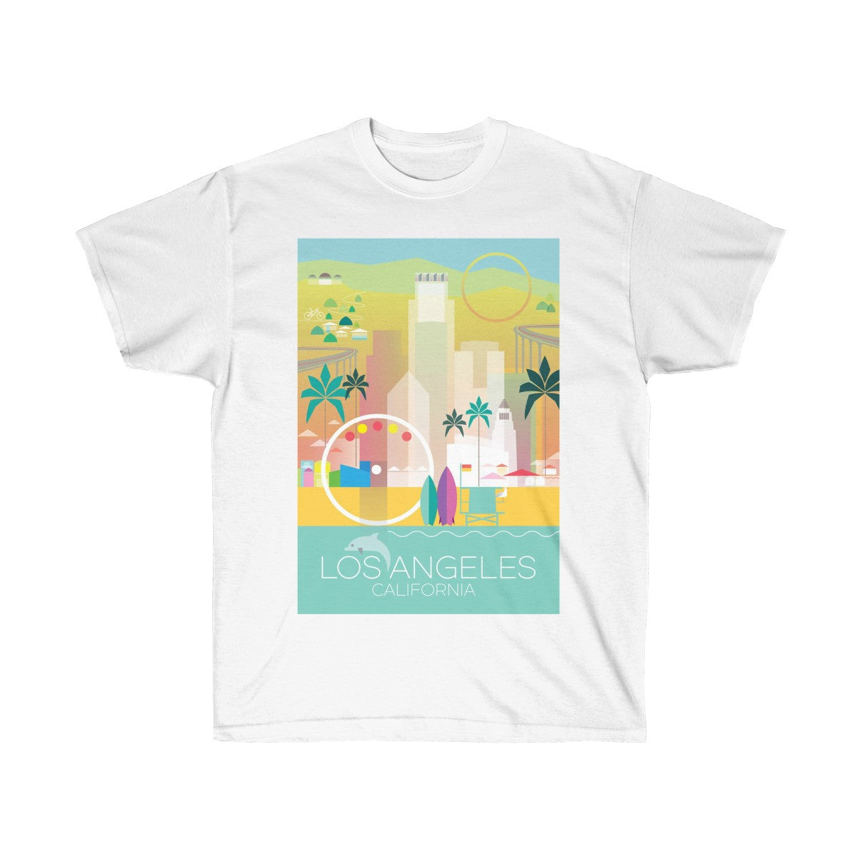 LOS ANGELES UNISEX ULTRA COTTON TEE
