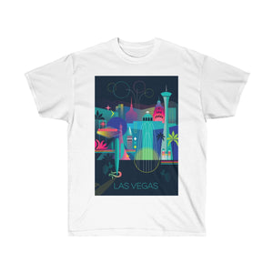 LAS VEGAS UNISEX ULTRA COTTON TEE