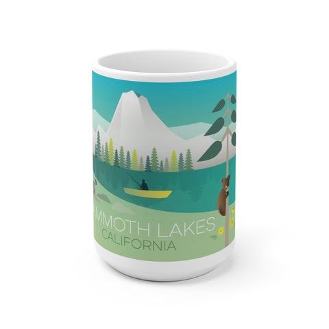 MAMMOTH LAKES 15 0Z CERAMIC MUG