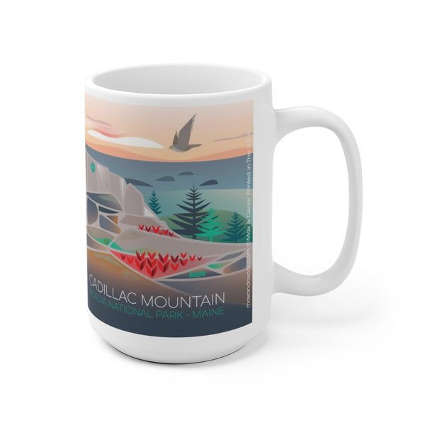 CADILLAC MOUNTAIN 15 OZ CERAMIC MUG