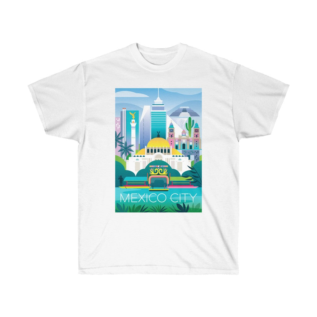 MEXICO CITY UNISEX ULTRA COTTON TEE