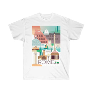 ROME UNISEX ULTRA COTTON TEE