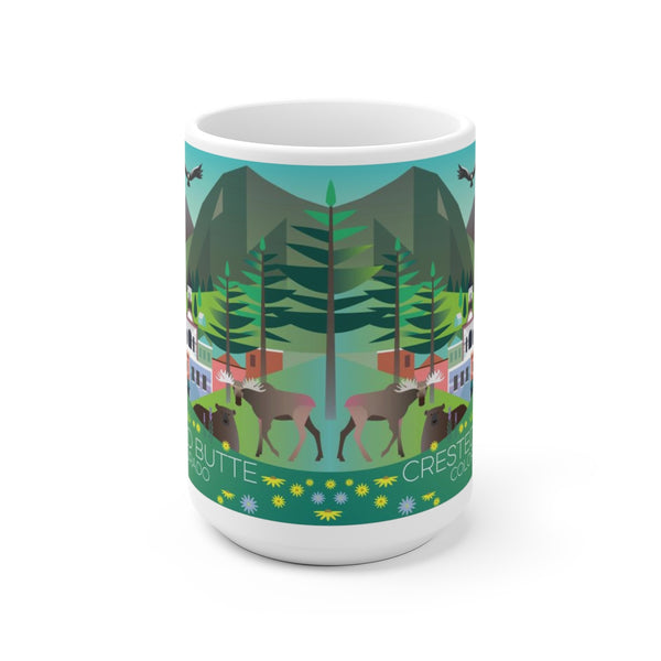 CRESTED BUTTE 15 OZ CERAMIC MUG