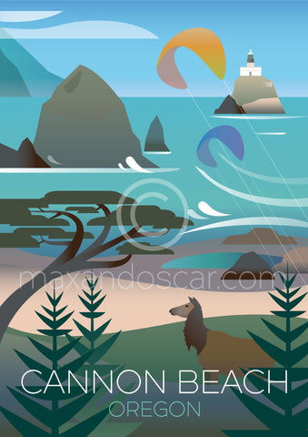 CANNON BEACH, OREGON PRINT
