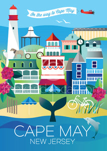 CAPE MAY POSTCARD