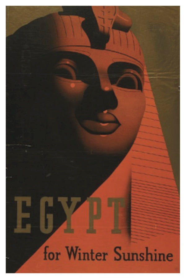EGYPT FOR WINTER SUNSHINE POSTAL CARD