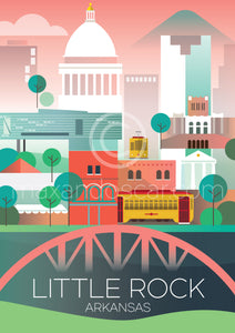 LITTLE ROCK POSTCARD