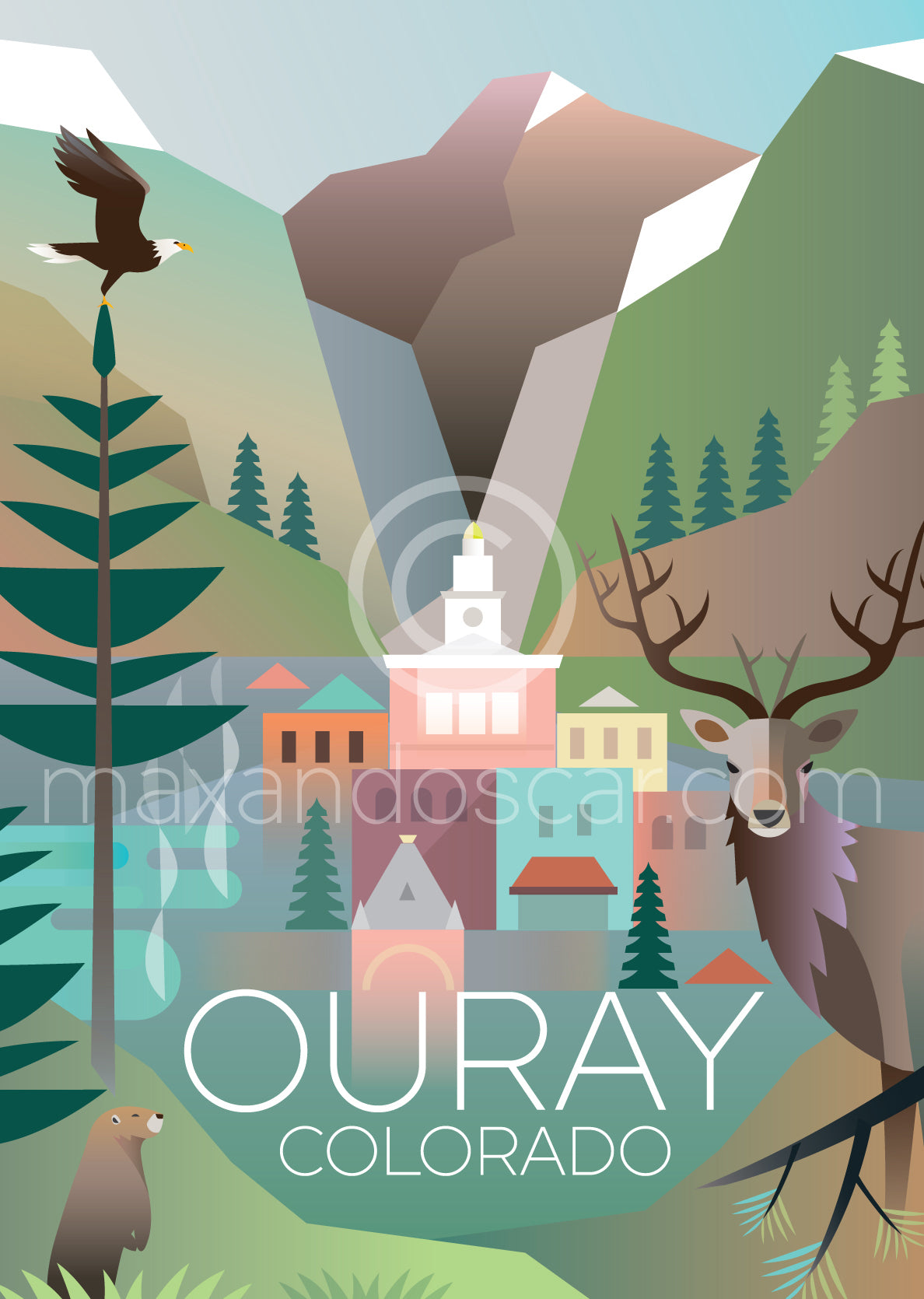OURAY PRINT