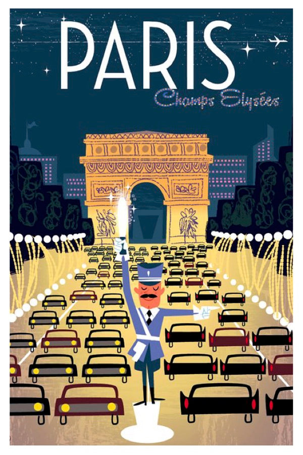 PARIS POSTAL CARD