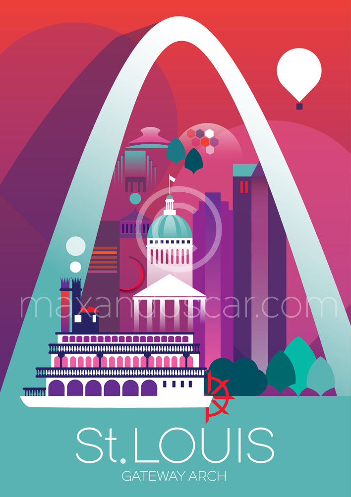 ST. LOUIS POSTCARD