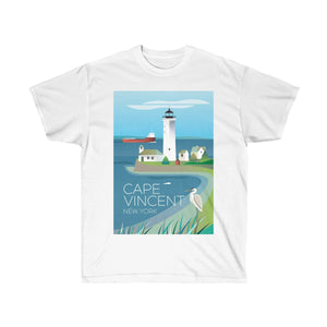 CAPE VINCENT UNISEX ULTRA COTTON TEE