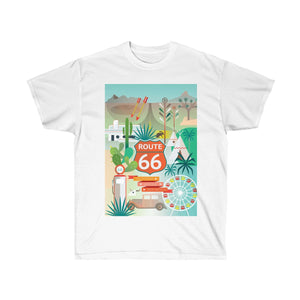 ROUTE 66 UNISEX ULTRA COTTON TEE