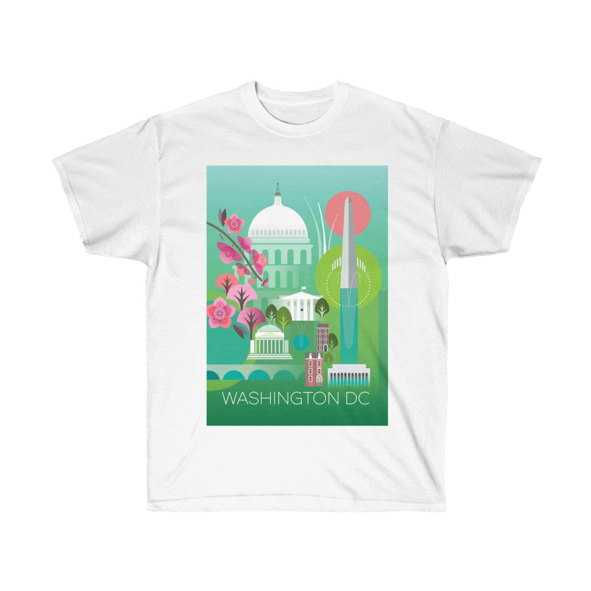 WASHINGTON, DC UNISEX ULTRA COTTON TEE