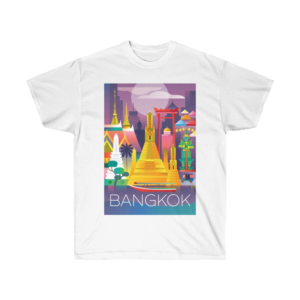 BANGKOK UNISEX ULTRA COTTON TEE
