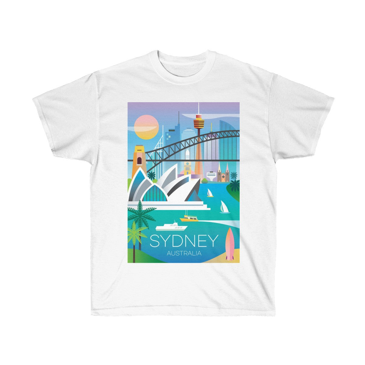 SYDNEY UNISEX ULTRA COTTON TEE