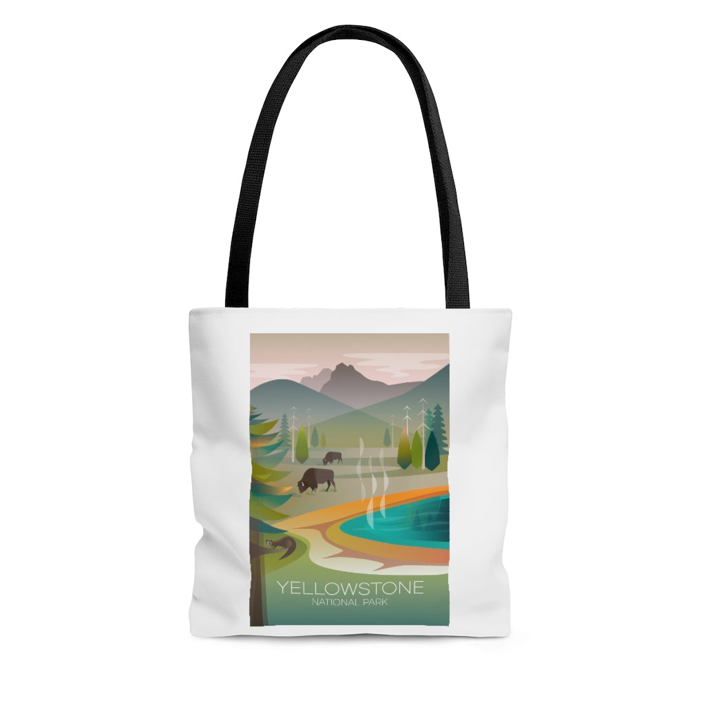 YELLOWSTONE NATIONAL PARK GRAND PRISMATIC TOTE