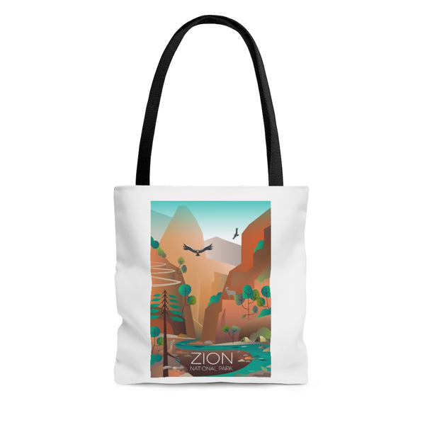 ZION NATIONAL PARK TOTE