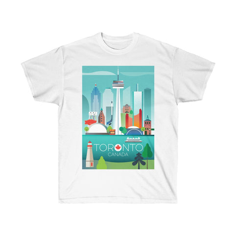 TORONTO UNISEX ULTRA COTTON TEE