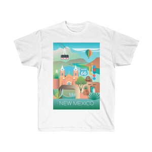 NEW MEXICO UNISEX ULTRA COTTON TEE