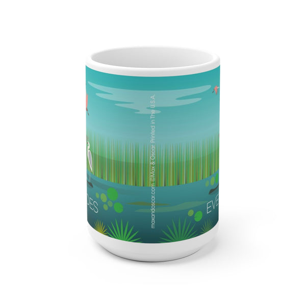 EVERGLADES 15 OZ CERAMIC MUG