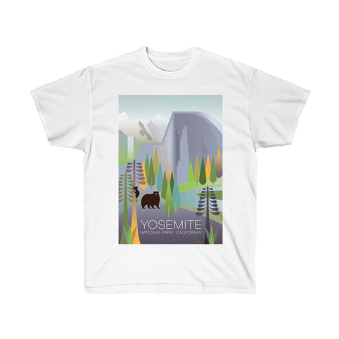 YOSEMITE NATIONAL PARK UNISEX ULTRA COTTON TEE
