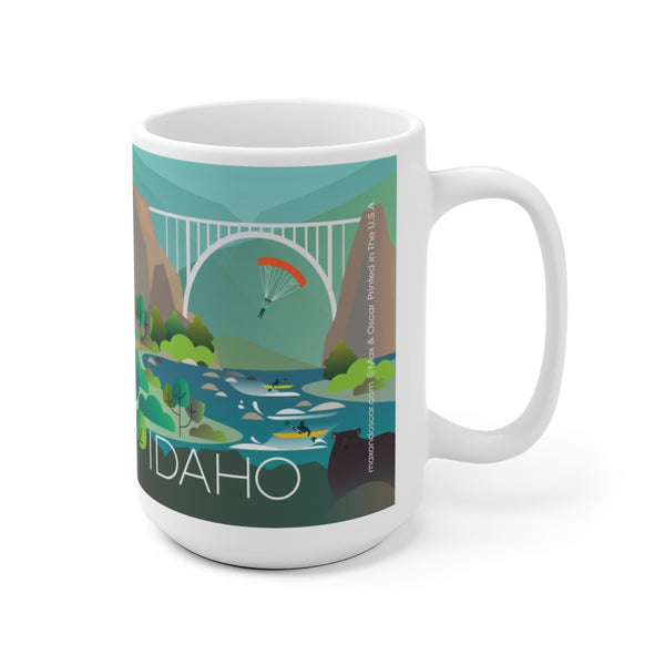 IDAHO 15 OZ CERAMIC MUG