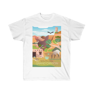 GRAND CANYON SOUTH RIM UNISEX ULTRA COTTON TEE