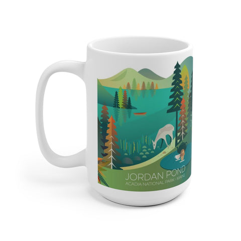 JORDAN POND 15 OZ CERAMIC MUG