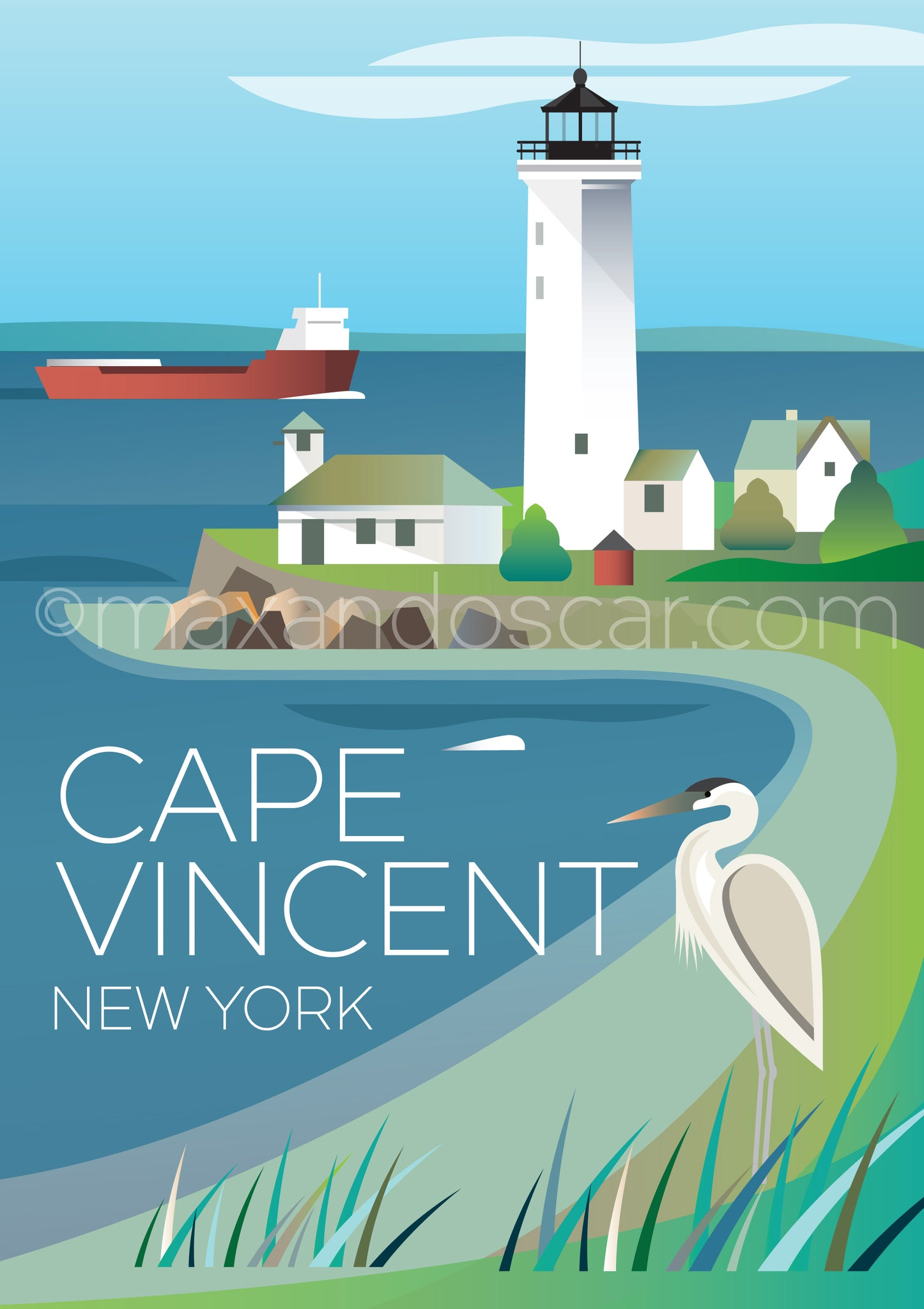 CAPE VINCENT POSTCARD