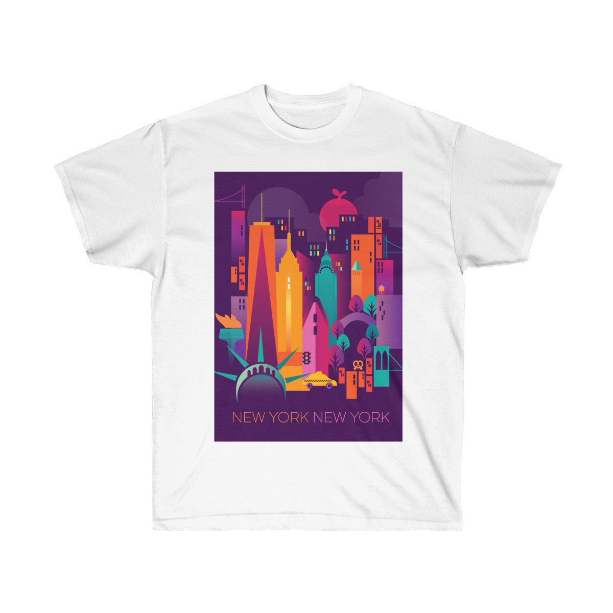 NEW YORK CITY UNISEX ULTRA COTTON TEE