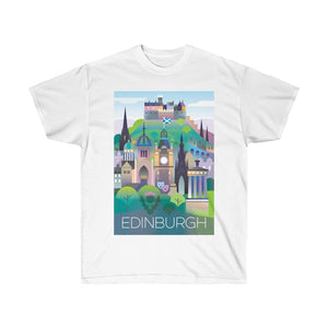 EDINBURGH UNISEX ULTRA COTTON TEE