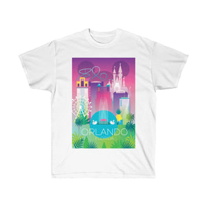 ORLANDO UNISEX ULTRA COTTON TEE