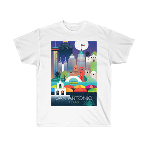 SAN ANTONIO UNISEX ULTRA COTTON TEE