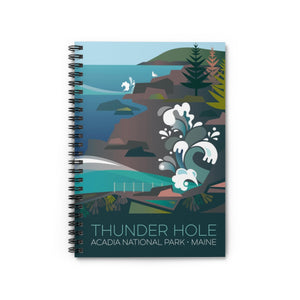 ACADIA NATIONAL PARK, THUNDER HOLE JOURNAL