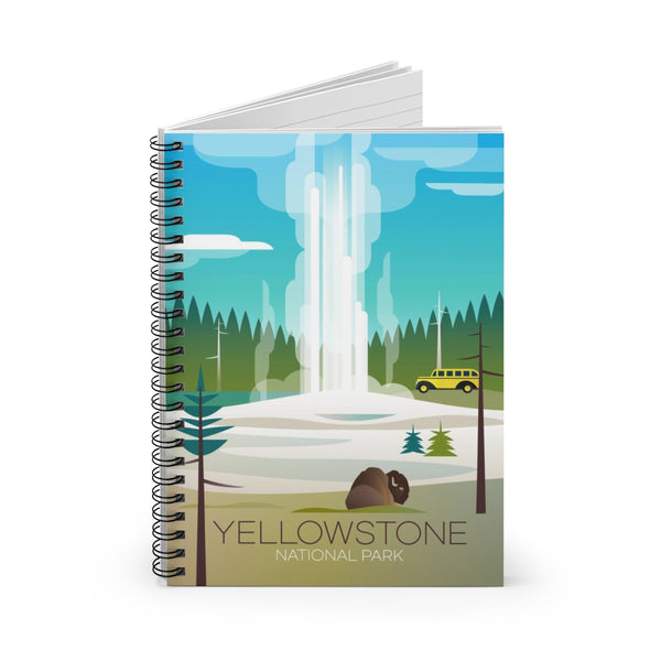 YELLOWSTONE NATIONAL PARK OLD FAITHFUL JOURNAL