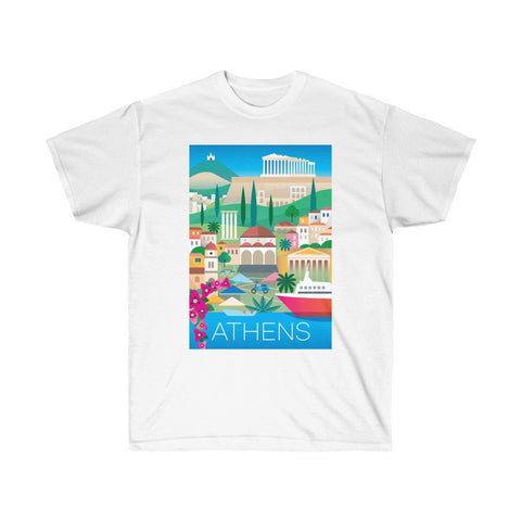 ATHENS UNISEX ULTRA COTTON TEE